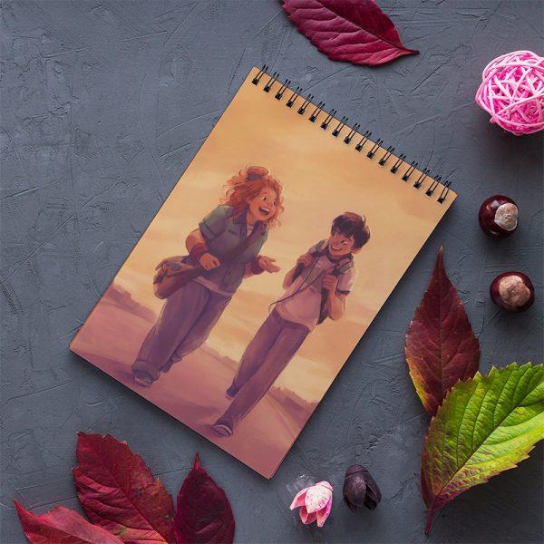 دفتر یادداشت انتشارات آذرباد